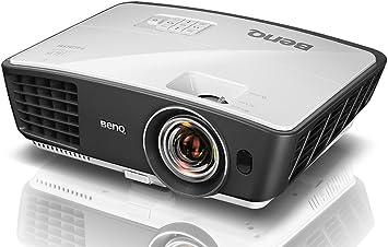 Amazon.com: BENQ w770st corto alcance 3d hd de 720P DLP Home ...