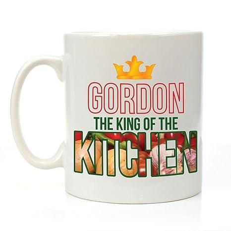 Personalizzato il re della cucina tazza, cottura Regali per lui ...