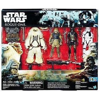 Star Wars Rogue One Death Trooper, Storm Trooper, Rebel Commando Pao & Moroff Exclusive Action Figure 4-Pack