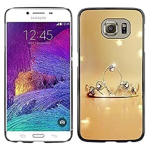 Paccase / SLIM PC / Aliminium Casa Carcasa Funda Case Cover - Nature Princess - Samsung Galaxy S6 SM-G920