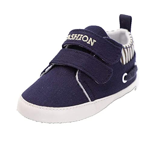 c9bf7f2412267 Infant Babies Boy Girl Shoes Sole Soft Canvas Solid Footwear for ...