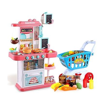 Plástico Cocina Utensilios Juegos Puzzle De N0wmvn8
