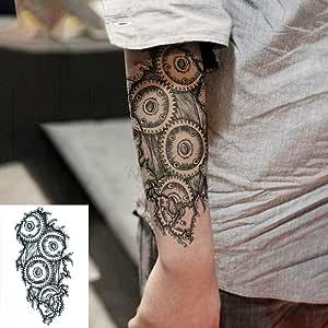 ljmljm 5pcs Impermeable Etiqueta engomada del Tatuaje Tribal ...
