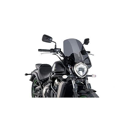 15 19 Kawasaki En650sa Puig Touring Windscreen Dark Smoke