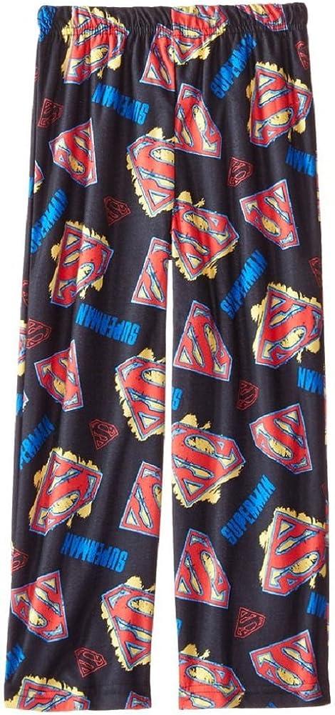DC Comics Little Boys Superman Flannel Lounge Pants