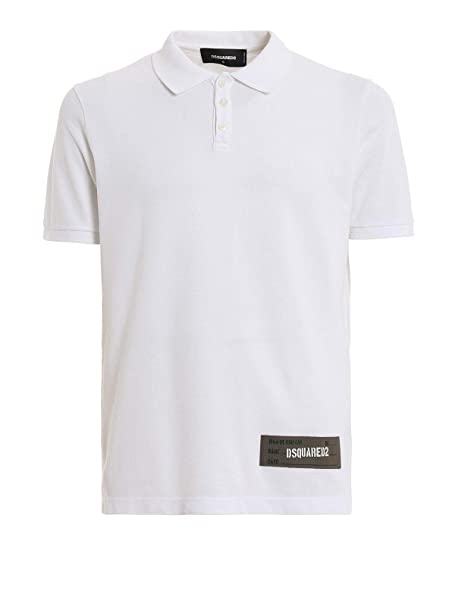 DSQUARED2 Luxury Fashion Hombre S74GL0005S22743100 Blanco Polo ...