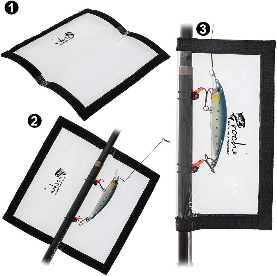 and 45cm 17.5 inch 2 x Lure Wrap Bag Combo 30cm 12 inch Game Fishing Lure