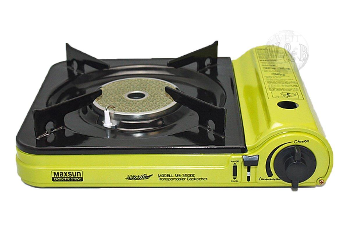 Rsonic Cocina De Gas Portable MS - 3500C. con Vitrocerámica ...