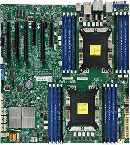 - Supermicro X11DAI-N-O Dual LGA3647/ Intel C621/ DDR4/ SATA3&USB3.0/ V&2GbE/ E-ATX Server Motherboard