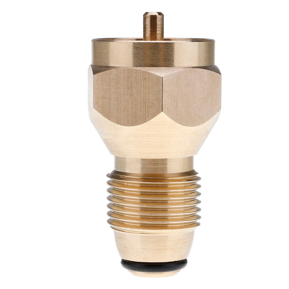 FidgetFidget Bottle tanks Refill small 1 LB Propane camping fishing adapter Lp Gas Cylinder by FidgetFidget (Image #6)