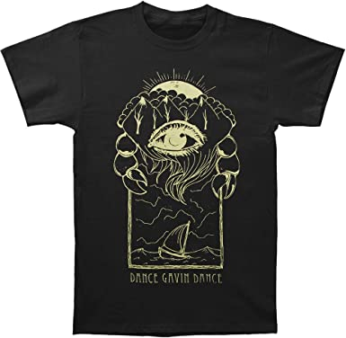Dance Gavin Dance Mens Eye T-Shirt Black