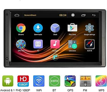 VISLONE Radio de Coche 2 Din Android Pantalla de 7 Pulgadas 1G / 16G 4 Core Multimedia