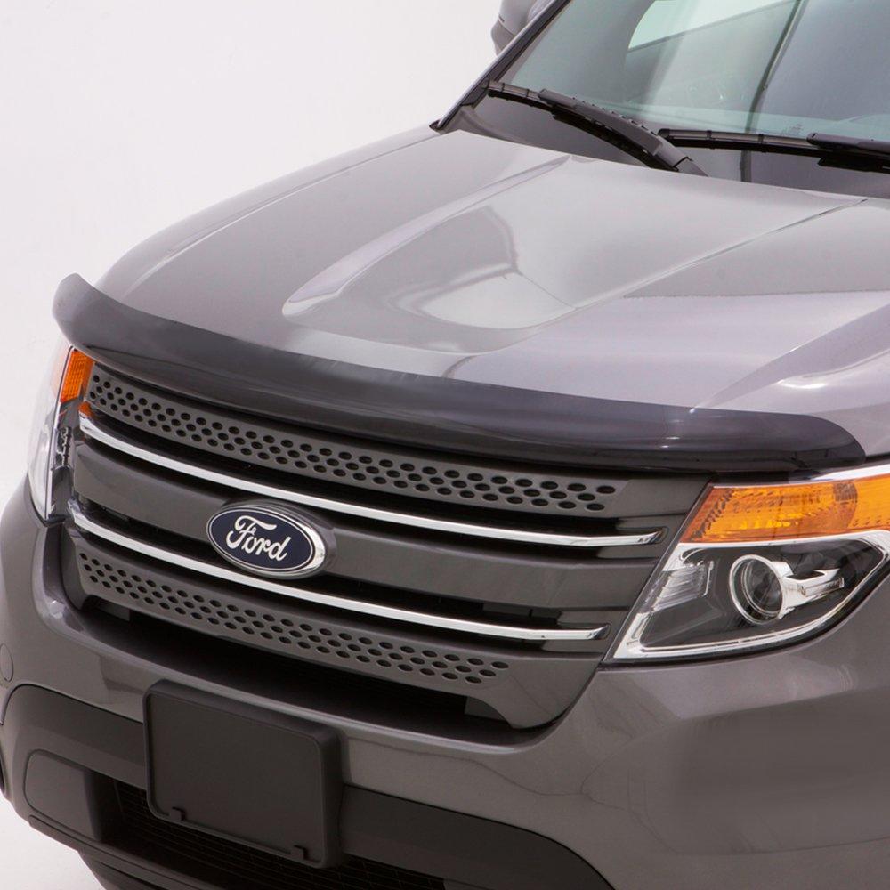 Auto Ventshade 25941 Bugflector II Dark Smoke Hood Shield for 2015-2018 Ford F-150