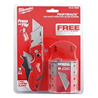 Milwaukee Fastback Flip Utility Knife w/Storage and 50-Blades Deals