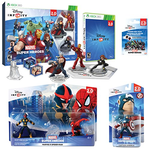 Amazon.com: Infinity 2.0 Marvel Premium Value Pack (PlayStation 3): Video Games