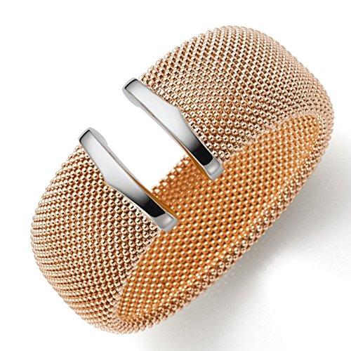 29mm framboise Bracelet Bracelet Bijoux Or véritable 585or rouge, embouts or blanc