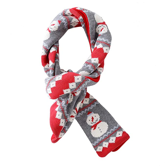 FENICAL Bufandas de Navidad Bufandas de moda de invierno Pañuelo de ...