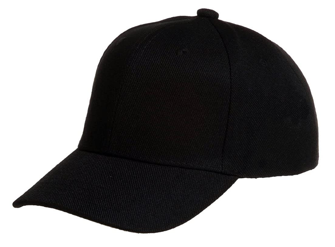 505325dfbeca9 Plain Baseball Blank Cap Solid Color Velcro Adjustable