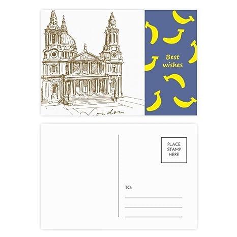 Jeu Carte Angleterre.Diythinker Cathedrale St Paul Angleterre Londres Banana Jeu