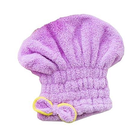 Toalla para secar el cabello KaLaiXing, para mujeres o niñas de pelo largo, secado