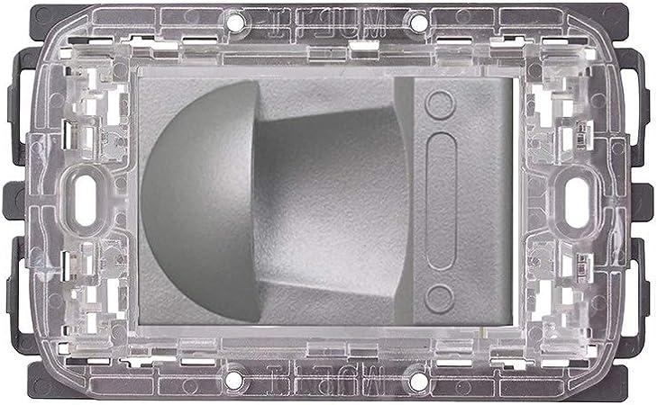 Toma de aspiración universal MULTI para aspiradora centralizada para 19 placas Silver Opaco: Amazon.es: Hogar
