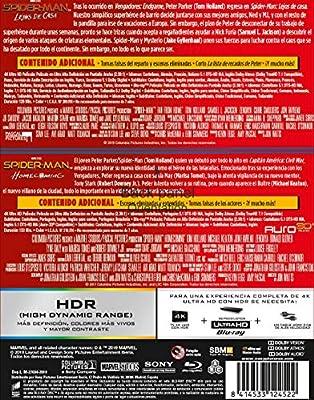 Pack Spider-Man: Homecoming + Lejos de casa 4K UHD + BD Blu-ray ...