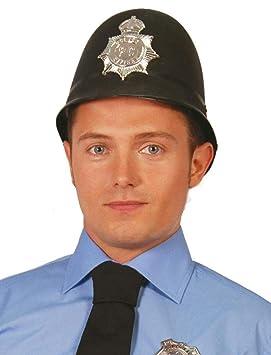 Disfrazzes - Gorro de policía inglés  Amazon.es  Juguetes y juegos 43dedec65cc