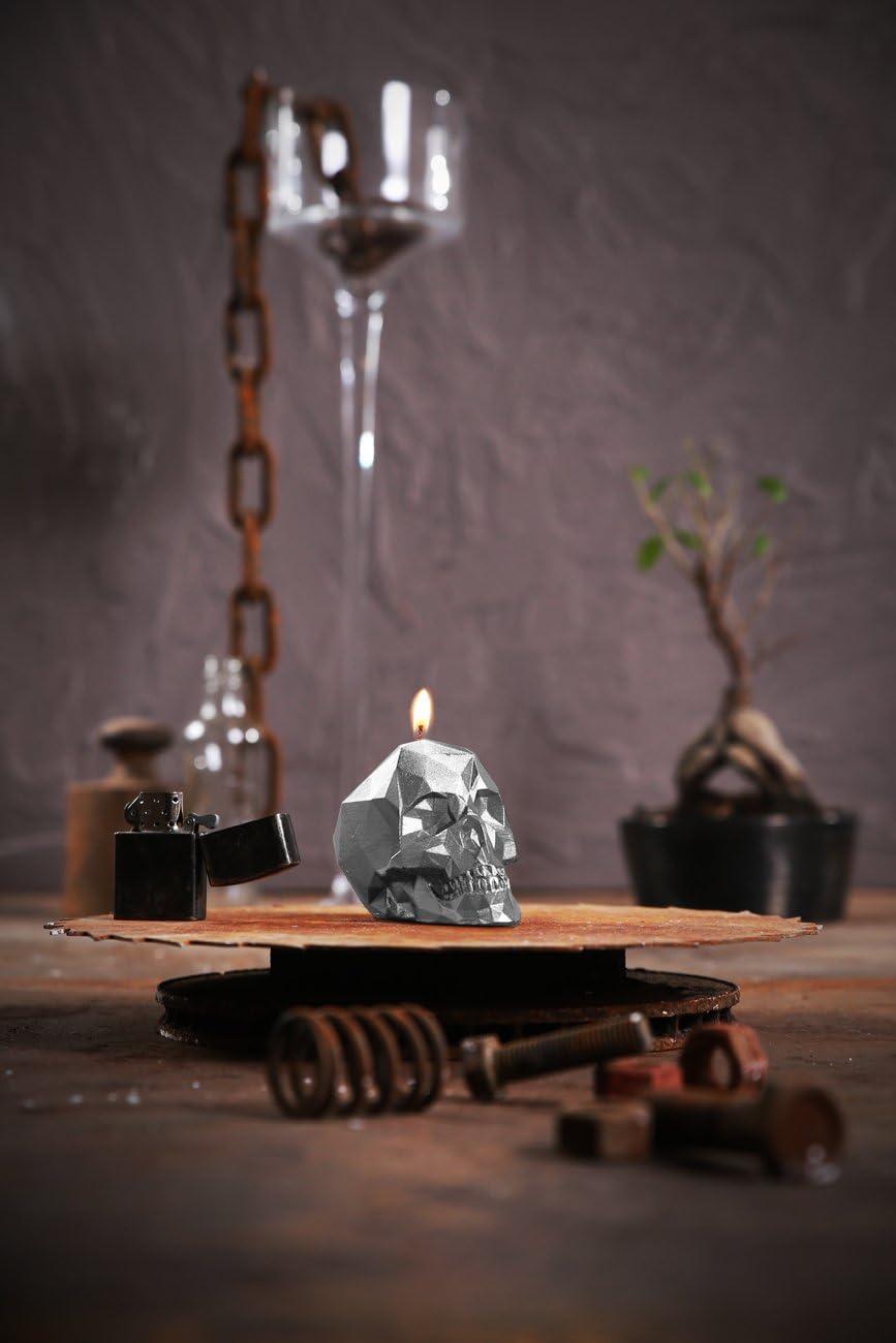 Candellana Candles Candellana Brass Small Skull Candle