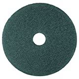 3M 08406 Cleaner Floor Pad 5300, 13'' Diameter, Blue, 5/Carton
