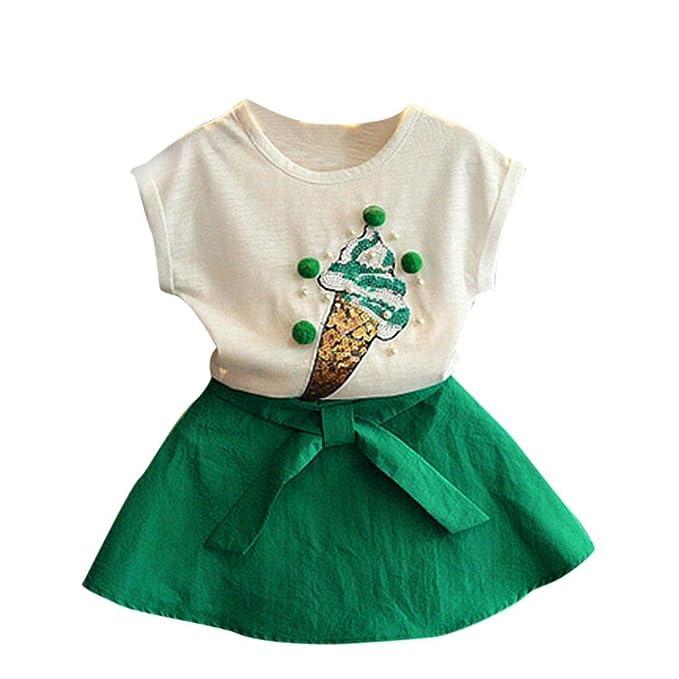 Amazon.com: fabal Verano Fashion Lovely Ice Cream de ropa ...
