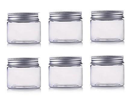 150 ml/5oz tarros Pet botella de plástico vacía botella de caja de cosméticos contenedores