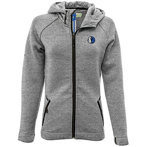 - Levelwear LEY9R NBA Dallas Mavericks Adult Women Motion Banner Stripe Full Zip Hooded Jacket, Medium, Heather Pebble