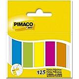 Marcador de Página Adesivo Pimaco BIC, 878639, Em 5 Cores com 25 Folhas Cada