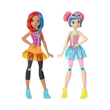 Mattel Dtw04 Amiche 3dAmazon Barbie it Gioco Video Bambola WHDEI29