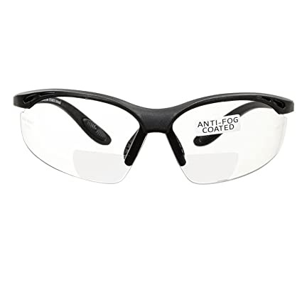 06c28d8596 voltX  CONSTRUCTOR  BIFOCAL Reading Safety Glasses (CLEAR +1.5 Dioptre) CE  EN166F certified Cycling Sports Glasses includes safety cord  Amazon.co.uk   DIY   ...