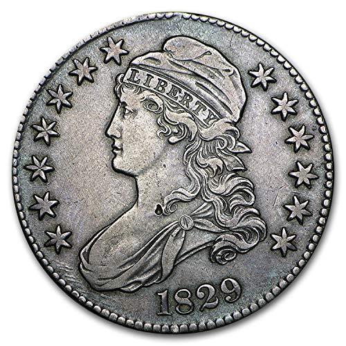 1829 Capped Bust Half Dollar XF Half Dollar Extremely Fine