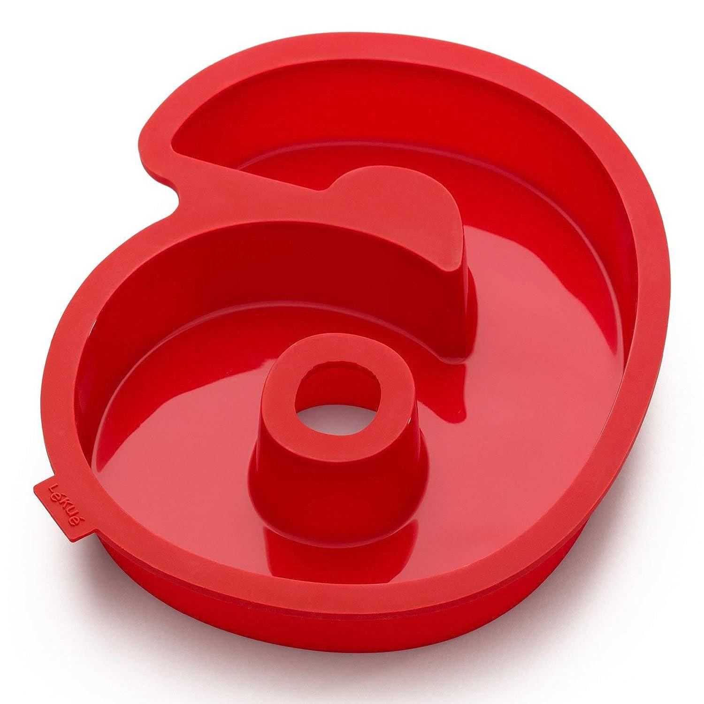 Stampo per torta numero 6 L/éku/é Celebrate colore rosso