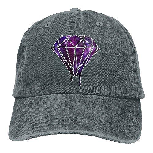 0cc26970456 FOOOKL Galaxy Diamond Unisex Cowboy Baseball Caps Trucker Hats Asphalt