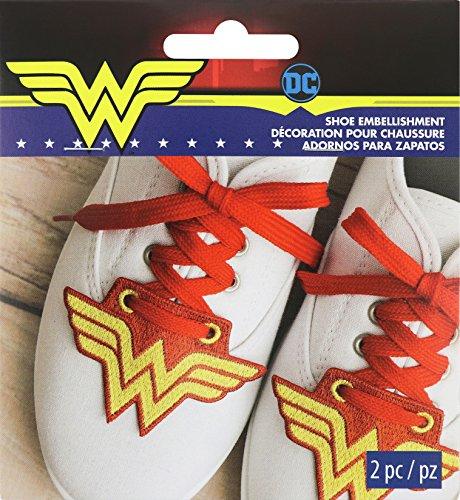 Wrights DC Comics Shoe Embellishment-Wonder Woman 3.52