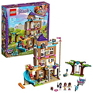 LEGO Friends Friendship House 41340 Kids Building Set with Mini-Doll Figures, Popular Girl Toys for Christmas and…