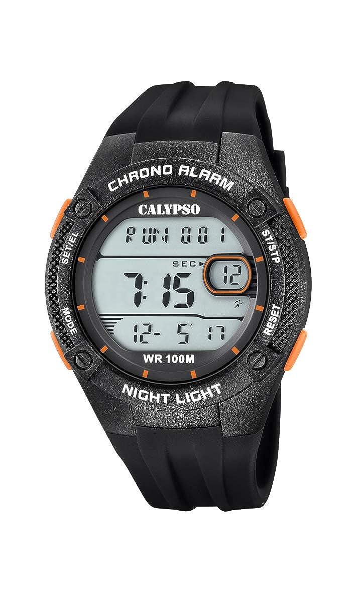 Calypso Watches Reloj Digital para Hombre de Cuarzo con Correa en Plástico K5765/2