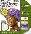 Donna's Olive Oil + Vitamin E Treated Sleep Cap & Bonnet (Random Color)