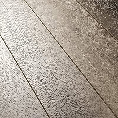 Armstrong Architectural Remnants Worldly Gris 12mm Laminate Flooring SAMPLE