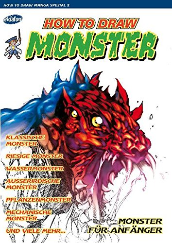How To Draw Manga/How To Draw Monster