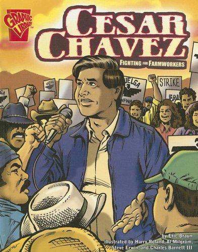 Cesar Chavez: Fighting for Farmworkers (Graphic Biographies) by Brand: Capstone Press (Image #1)