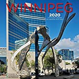 Winnipeg 2020 12 x 12 Inch Monthly Square Wall Calendar, Canadian Regional Travel Canada (English and French Edition)