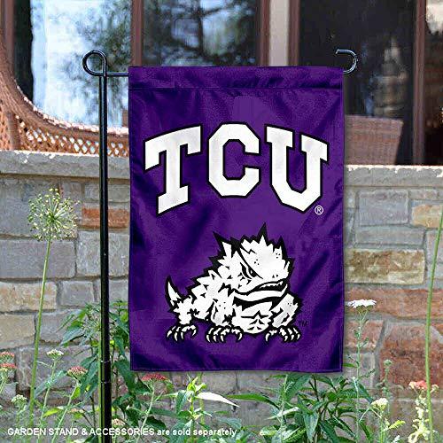 TCU Garden Flag and Yard Banner (Flags Garden Collegiate)