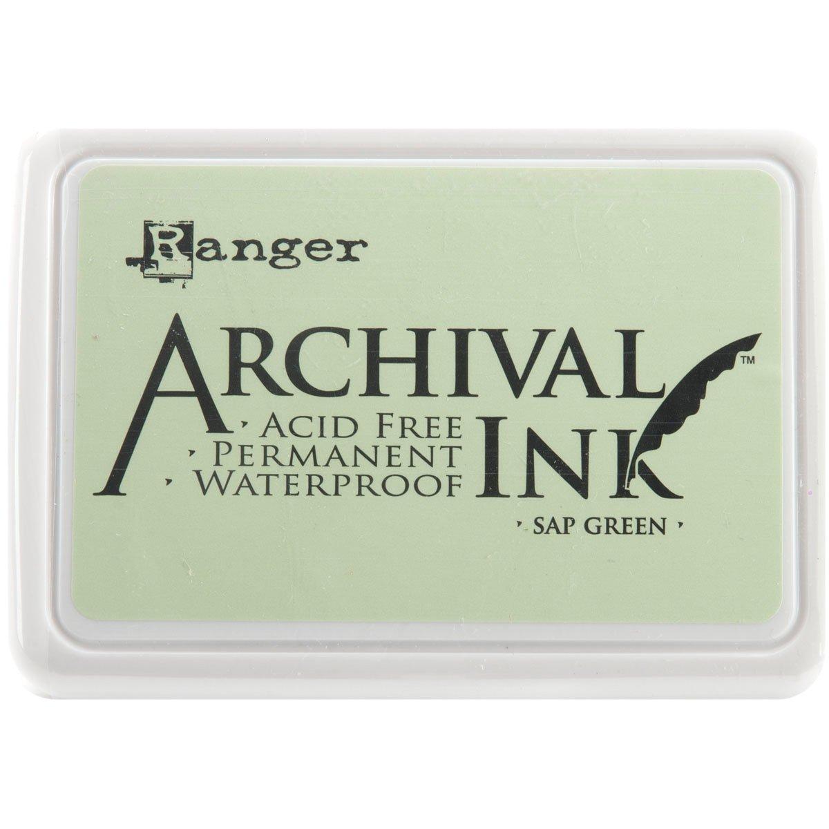 Ranger AIP-30645 Archival Inkpad, Sap Green by Ranger   B004W8RPPE