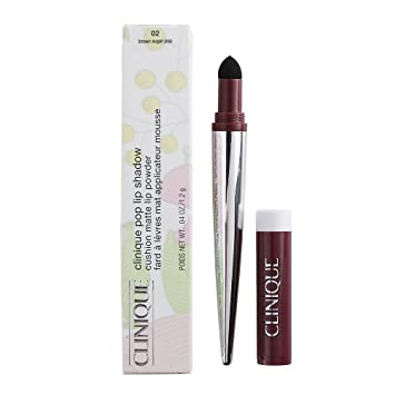 Clinique Pop Lip Shadow 02 Brown Sugar Pop - Cushion Matte Lip Shadow