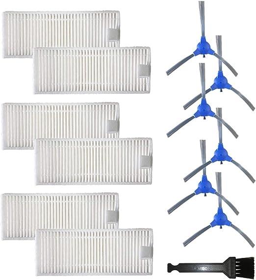 iAmoy Cepillo Lateral de Repuesto y Kit de Filtro Compatible con Conga 950 Robot Aspirador: Amazon.es: Hogar